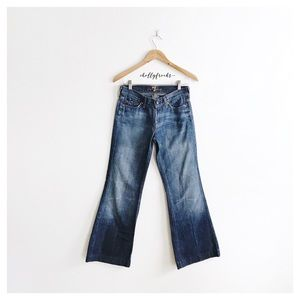 7 For All Mankind ∙ Dojo Flare Jeans